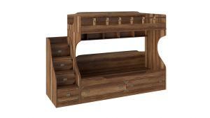 """Кровать двухъярусная с приставной лестницей """"Навигатор"""""""